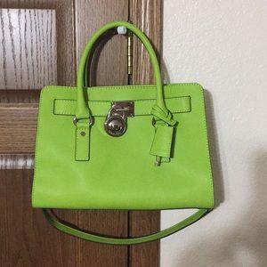 Brand new lime green MK purse.  Gorgeous.